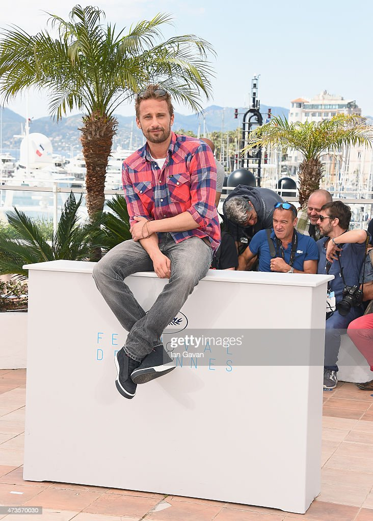 Actor <a gi-track='captionPersonalityLinkClicked' href=/galleries/search?phrase=Matthias+Schoenaerts&family=editorial&specificpeople=6259320 ng-click='$event.stopPropagation()'>Matthias Schoenaerts</a> attends the 'Disorder' photocall during the 68th annual Cannes Film Festival on May 16, 2015 in Cannes, France.