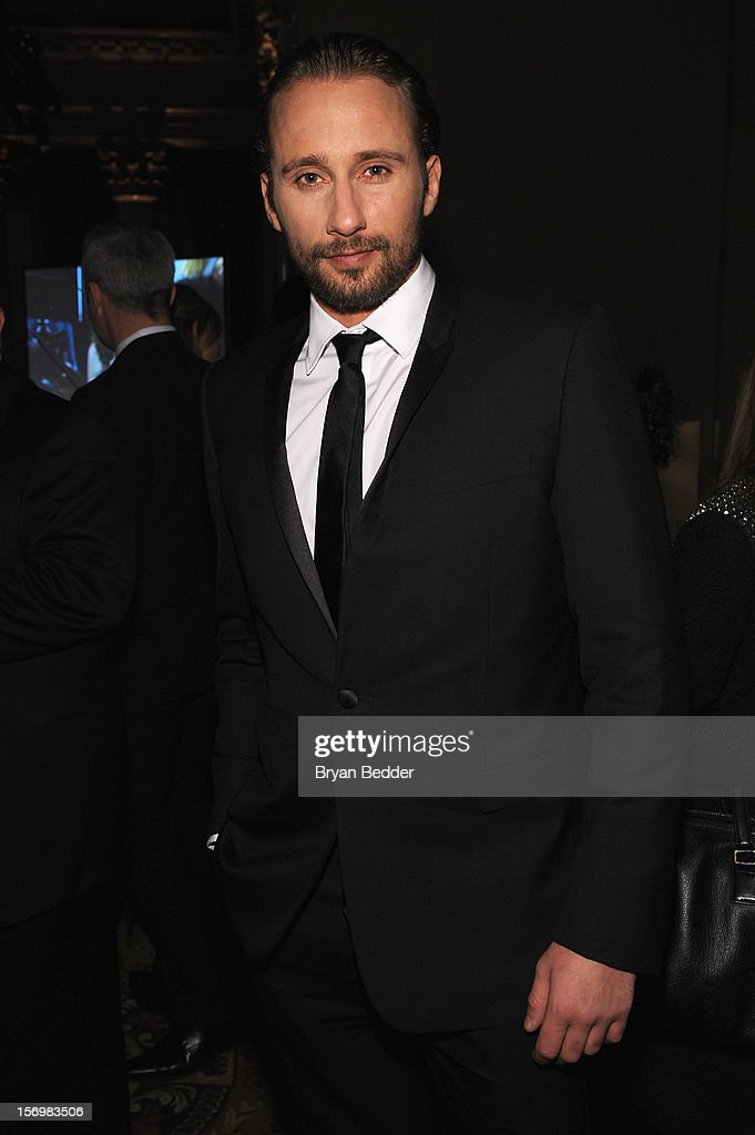 Actor Matthias Schoenaerts attends the IFP's 22nd Annual Gotham Independent Film Awards at Cipriani Wall Street on November 26, 2012 in New York City.