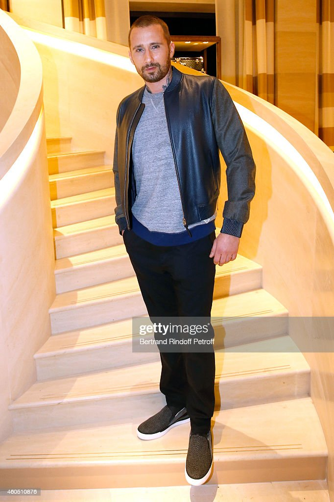 Actor <a gi-track='captionPersonalityLinkClicked' href=/galleries/search?phrase=Matthias+Schoenaerts&family=editorial&specificpeople=6259320 ng-click='$event.stopPropagation()'>Matthias Schoenaerts</a> attends the Louis Vuitton Montaigne Store Re-Opening party at Louis Vuitton Avenue Montaigne Store on December 15, 2014 in Paris, France.