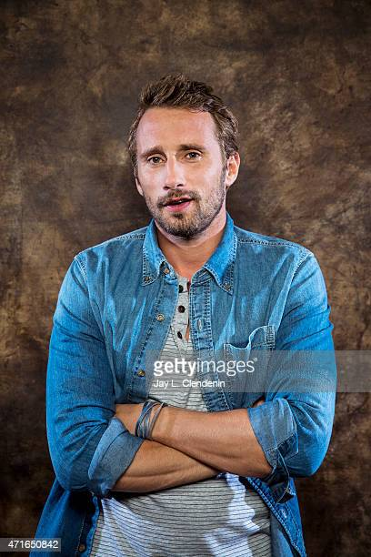 Actor Matthias Schoenaerts is photographed for Los Angeles Times on September 5 2015 in Toronto Ontario PUBLISHED IMAGE CREDIT MUST READ Jay L...