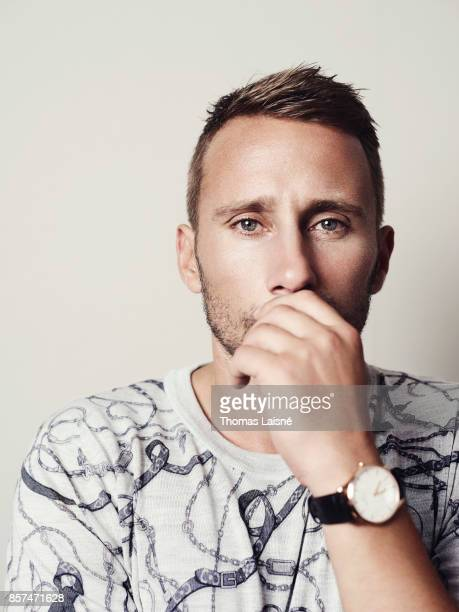 Actor Matthias Schoenaerts is photographed for Self Assignment on September 7 2017 in Venice Italy