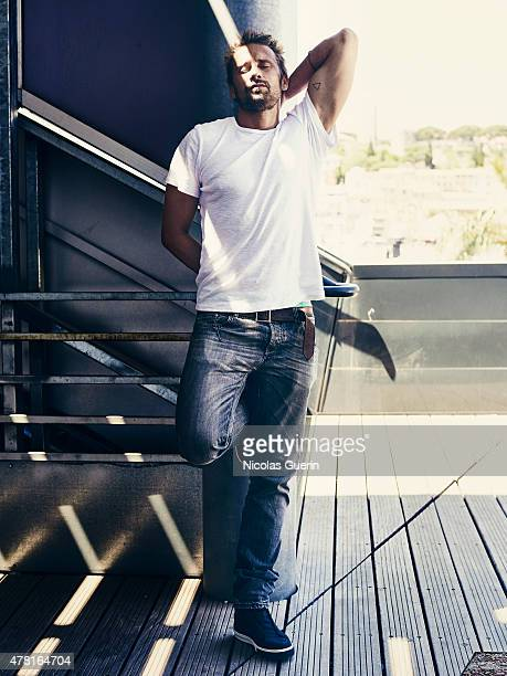 Actor Matthias Schoenaerts is photographed for Self Assignment on May 15 2015 in Cannes France
