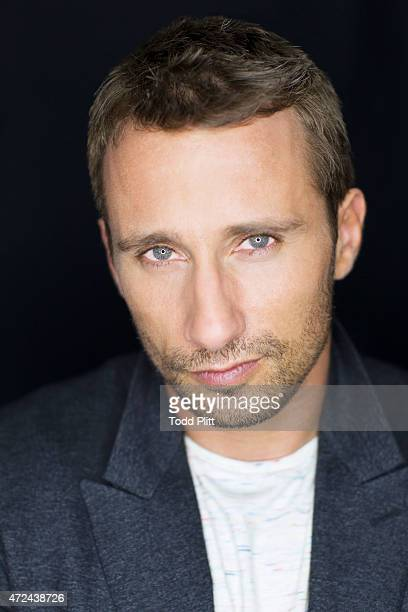Actor Matthias Schoenaerts is photographed for USA Today on April 19 2015 in New York City PUBLISHED IMAGE