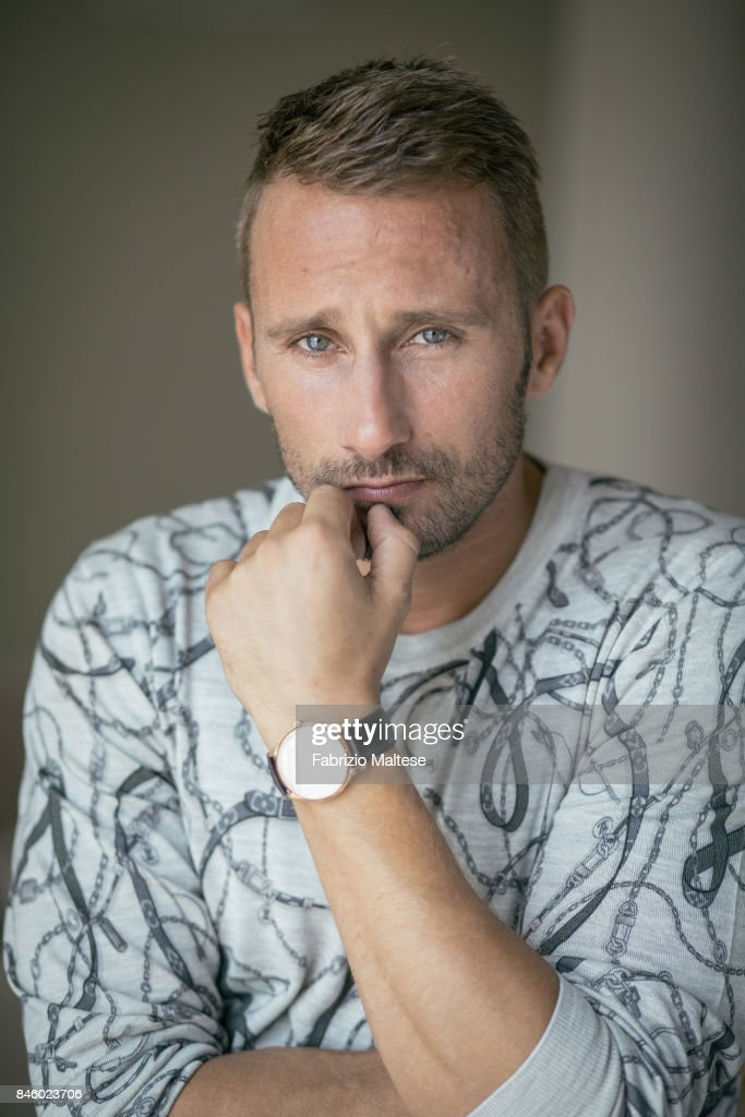 Actor Matthias Schoenaerts is photographed on September 7, 2017 in Venice, Italy.