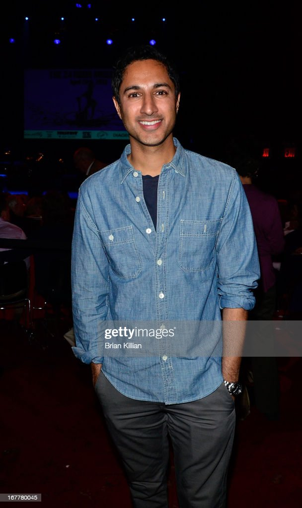 Actor Maulik Pancholy attends 24 Hour Musicals 2013 at the Gramercy Theatre on April 29, 2013 in New York City.