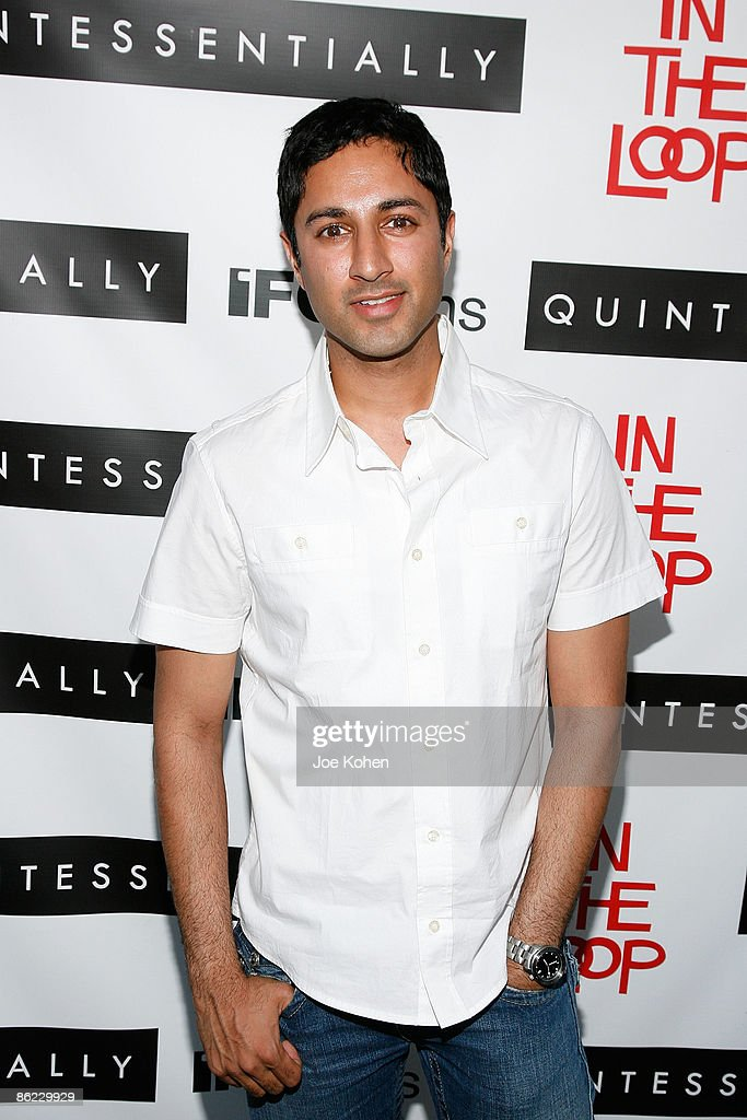 Actor Maulik Pancholy attends a screening of 'In The Loop' at the IFC Center on April 26, 2009 in New York City.