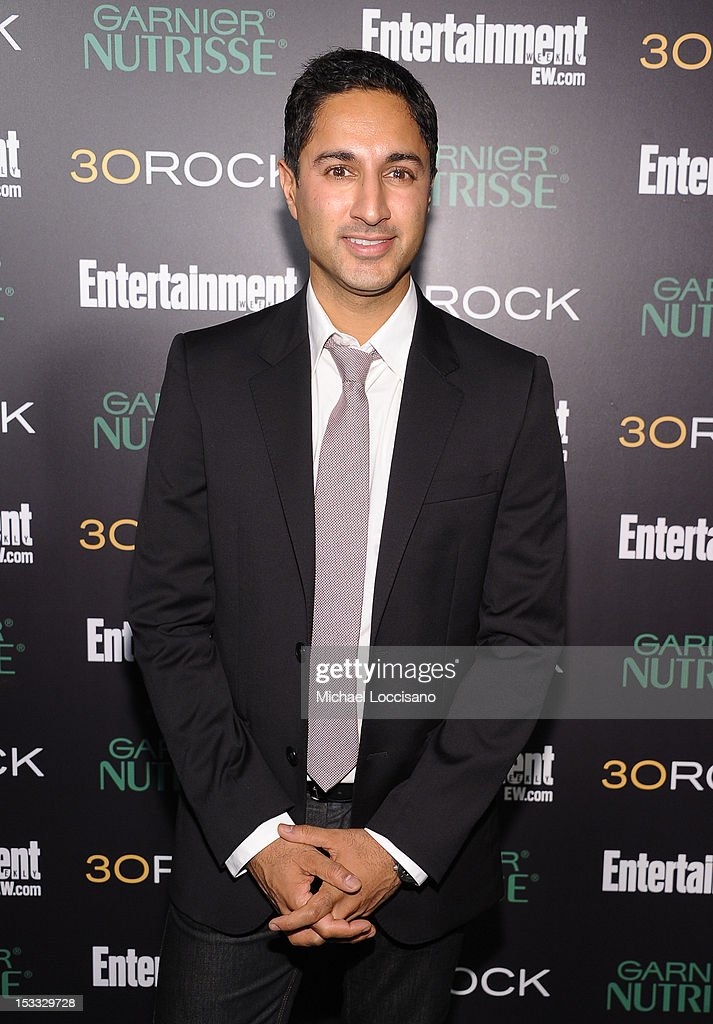 Actor Maulik Pancholy attends Entertainment Weekly and NBC's celebration of the final season of 30 Rock sponsored by Garnier Nutrisse on October 3, 2012 in New York City.