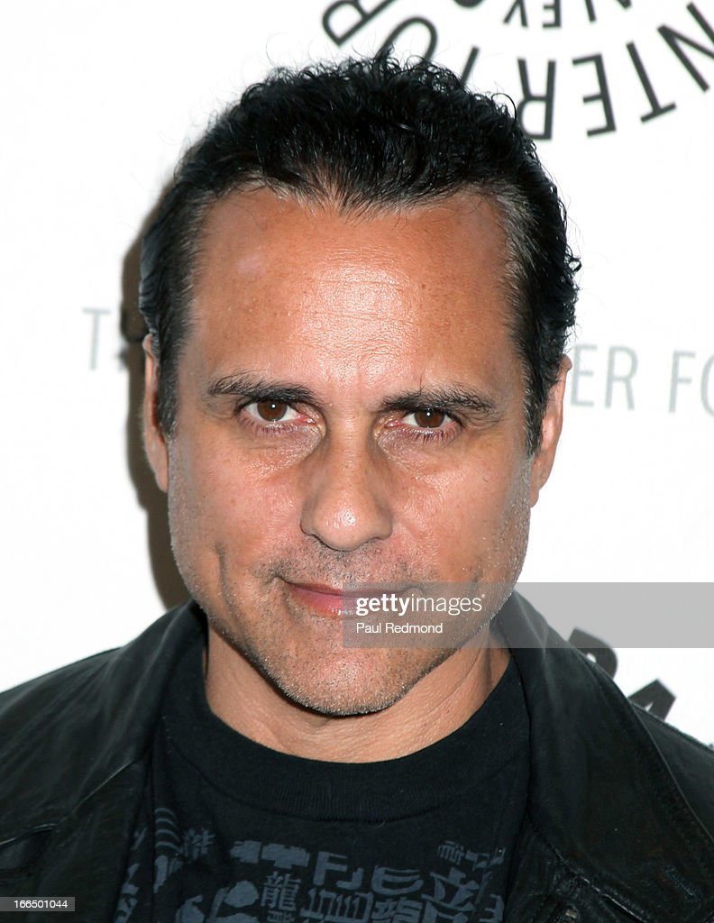 Actor <a gi-track='captionPersonalityLinkClicked' href=/galleries/search?phrase=Maurice+Benard&family=editorial&specificpeople=663758 ng-click='$event.stopPropagation()'>Maurice Benard</a> arrives at The Paley Center For Media Presents 'General Hospital: Celebrating 50 Years And Looking Forward' at The Paley Center for Media on April 12, 2013 in Beverly Hills, California.