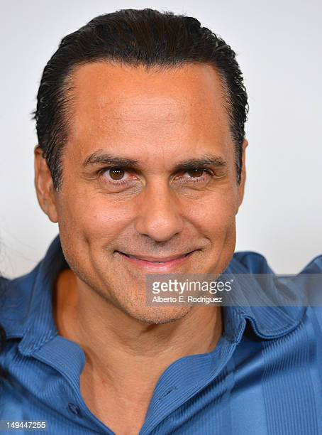 Actor Maurice Benard arrives to the Disney ABC Television Group's 2012 'TCA Summer Press Tour' on July 27 2012 in Beverly Hills California