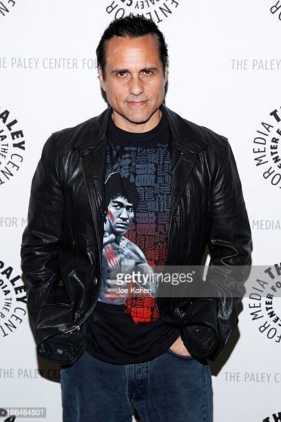 Actor Maurice Benard attends 'General Hospital celebrating 50 years and looking forward' at The Paley Center for Media on April 12 2013 in Beverly...