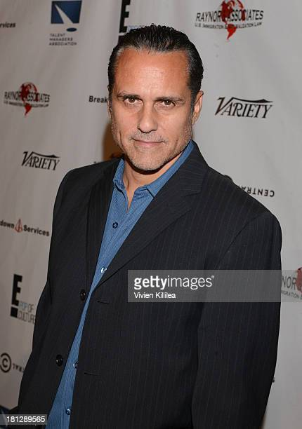 Actor Maurice Benard attends the 12th Annual Heller Awards at The Beverly Hilton Hotel on September 19 2013 in Beverly Hills California