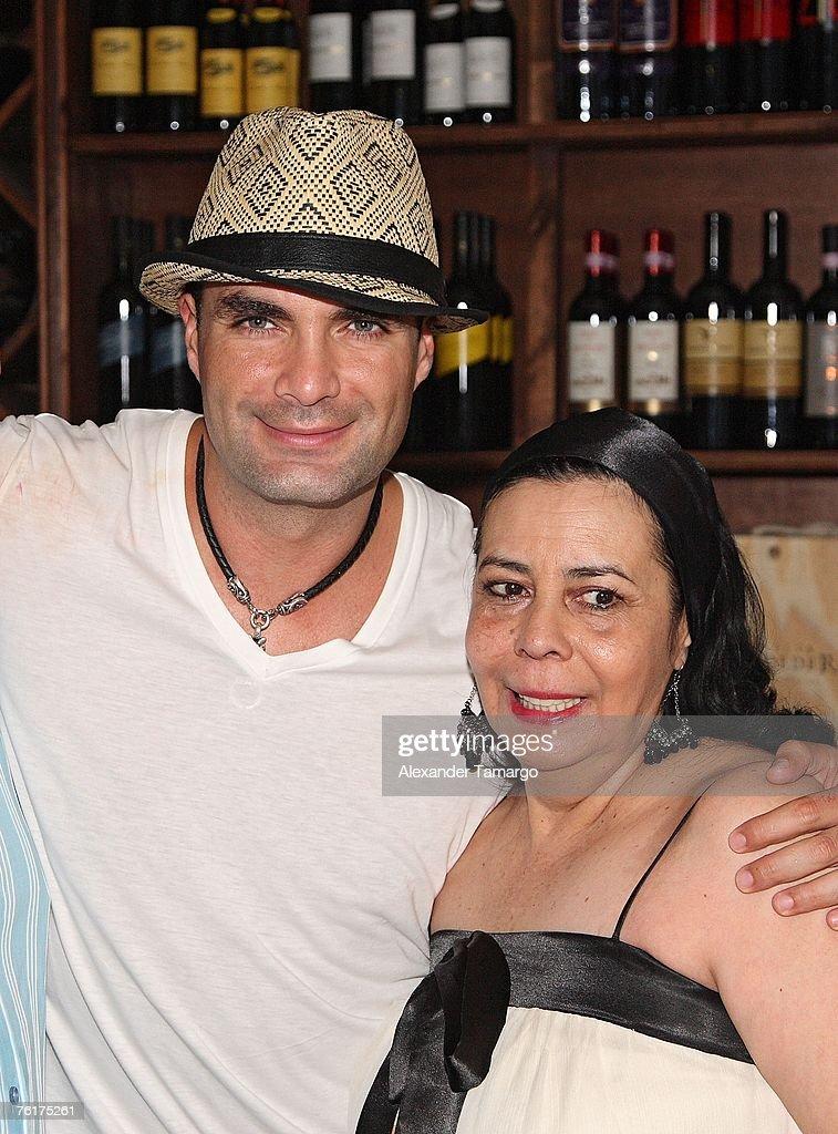 Telemundos Mauricio Islas Birthday Party Photos and Images
