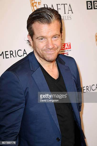 Actor Max Beesley arrives at BAFTA Los Angeles BBC America TV Tea Party at The London Hotel on September 17 2016 in West Hollywood California