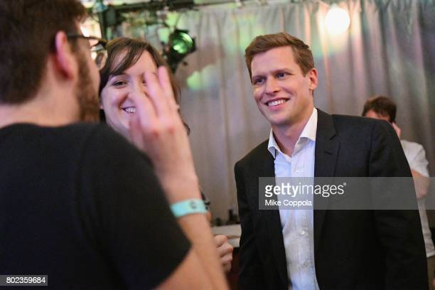 Actor Max Bennett speaks to guests during TNT's Season One 'Will' Premiere After Party at Bryant Park on June 27 2017 in New York City 26058_015