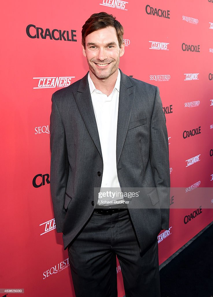 Actor Max Bird-Ridnell attends Crackle Presents: Summer Premieres Event for originals, 'Sequestered' and 'Cleaners' at 1 OAK on August 14, 2014 in West Hollywood, California.