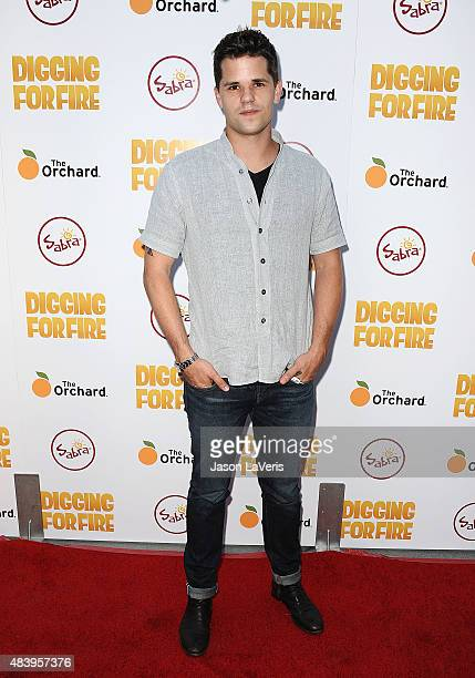 Actor Max Carver attends the premiere of 'Digging For Fire' at ArcLight Cinemas on August 13 2015 in Hollywood California