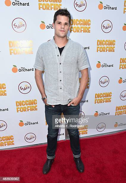 Actor Max Carver attends the premiere of 'Digging for Fire' at The ArcLight Cinemas on August 13 2015 in Hollywood California