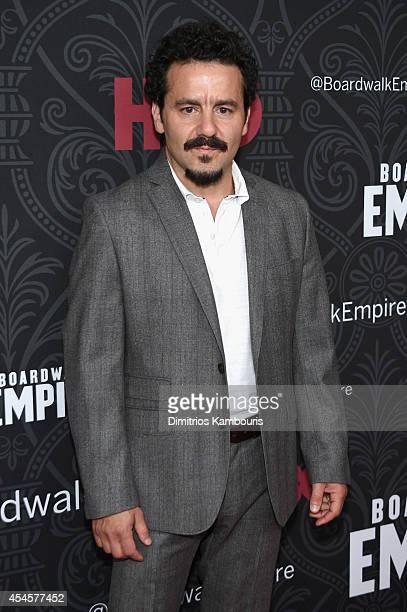 Actor Max Casella attends HBO's 'Boardwalk Empire' Season Five New York Premiere at Ziegfeld Theatre on September 3 2014 in New York City