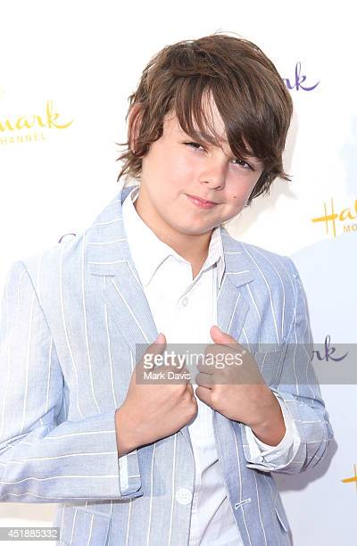 Actor Max Charles attend the Hallmark Channel Hallmark Movie Channel's 2014 Summer TCA Party on July 8 2014 in Beverly Hills California
