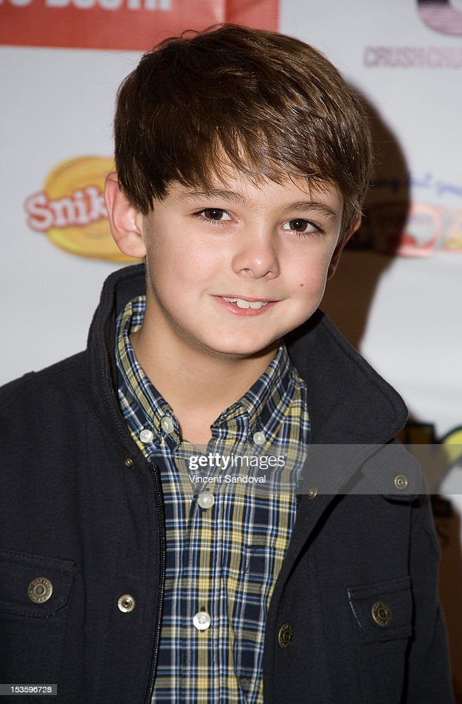 Actor Max Charles attends The 2nd Annual ASPCA Rock n' Roll LA Benefit at The Olympic Collection on October 6, 2012 in Los Angeles, California.