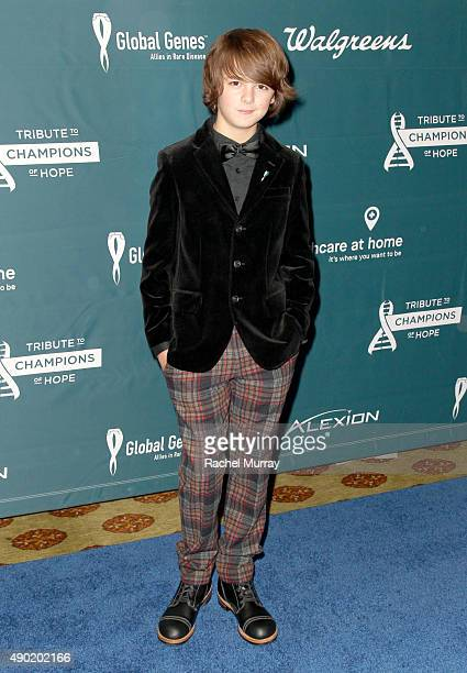 Actor Max Charles attends the 4th Annual RARE Tribute To Champions Of Hope Gala on September 26 2015 in Huntington Beach California