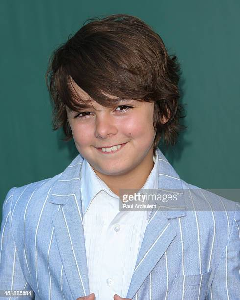 Actor Max Charles attends the Hallmark Channel and Hallmark Movie Channel's 2013 Summer TCA Party on July 8 2014 in Beverly Hills California