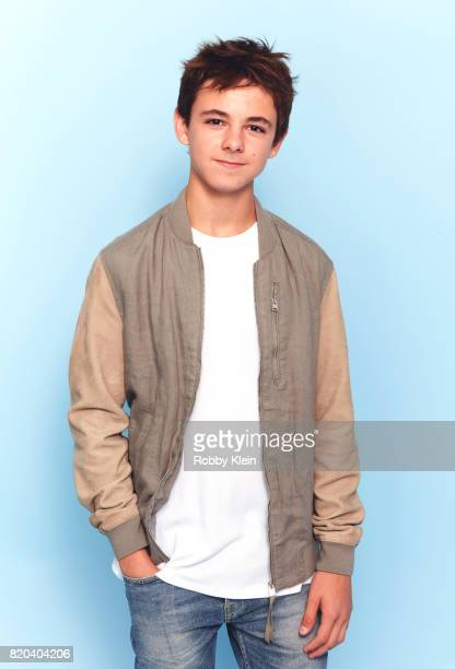 Actor Max Charles of FX's 'The Strain' poses for a portrait during ComicCon 2017 at Hard Rock Hotel San Diego on July 20 2017 in San Diego California