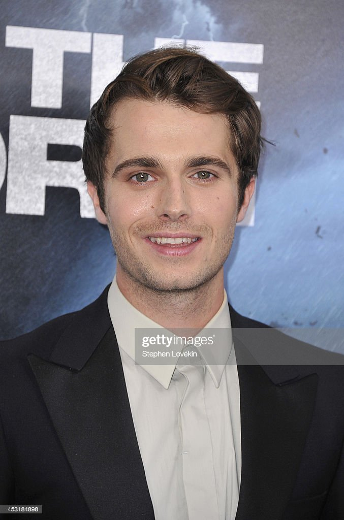 Actor Max Deacon attends the 'Into The Storm' premiere at AMC Lincoln Square Theater on August 4, 2014 in New York City.
