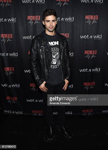 Actor Max Ehrich attends Daya's listening party for the album 'Sit Still Look Pretty' at The Sayer's Club on October 4 2016 in Los Angeles California