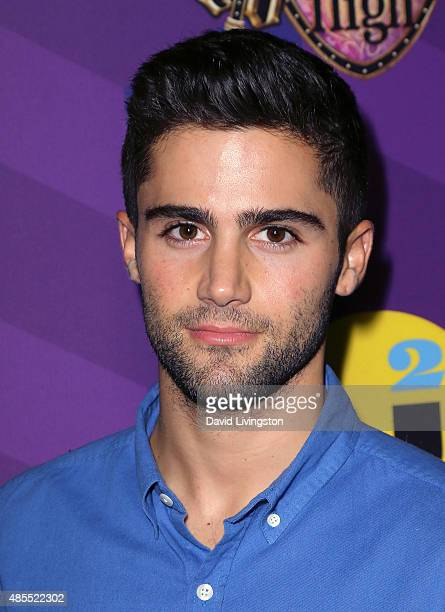 Actor Max Ehrich attends Just Jared's Way to Wonderland presented by Ever After High at Greystone Manor Supperclub on August 27 2015 in West...