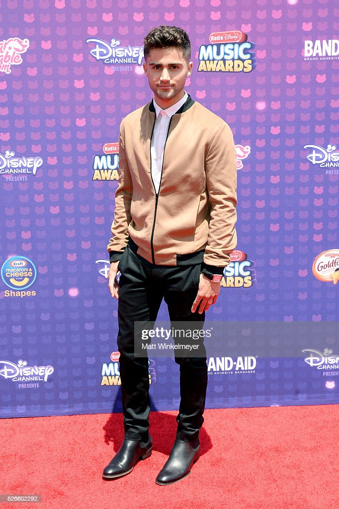 Actor <a gi-track='captionPersonalityLinkClicked' href=/galleries/search?phrase=Max+Ehrich&family=editorial&specificpeople=5540241 ng-click='$event.stopPropagation()'>Max Ehrich</a> attends the 2016 Radio Disney Music Awards at Microsoft Theater on April 30, 2016 in Los Angeles, California.