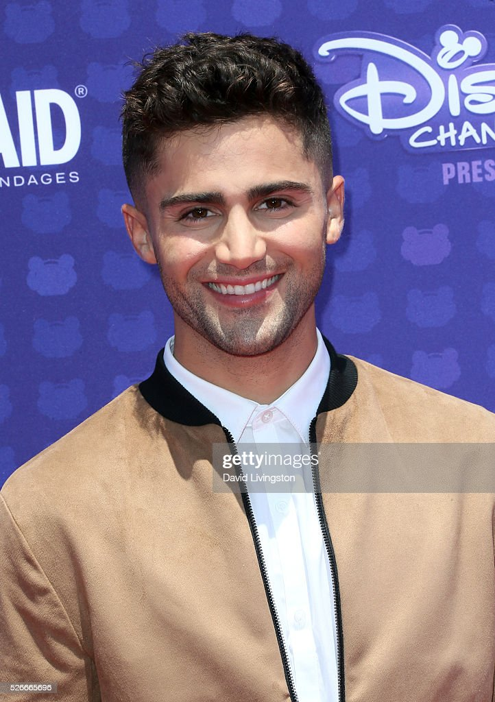 Actor Max Ehrich attends the 2016 Radio Disney Music Awards at Microsoft Theater on April 30, 2016 in Los Angeles, California.