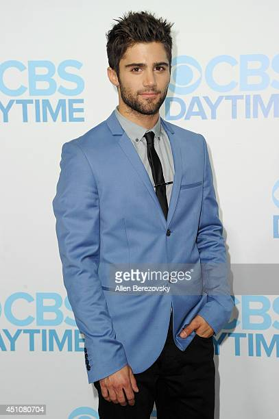 Actor Max Ehrich attends the 41st Annual Daytime Emmy Awards CBS After Party at The Beverly Hilton Hotel on June 22 2014 in Beverly Hills California