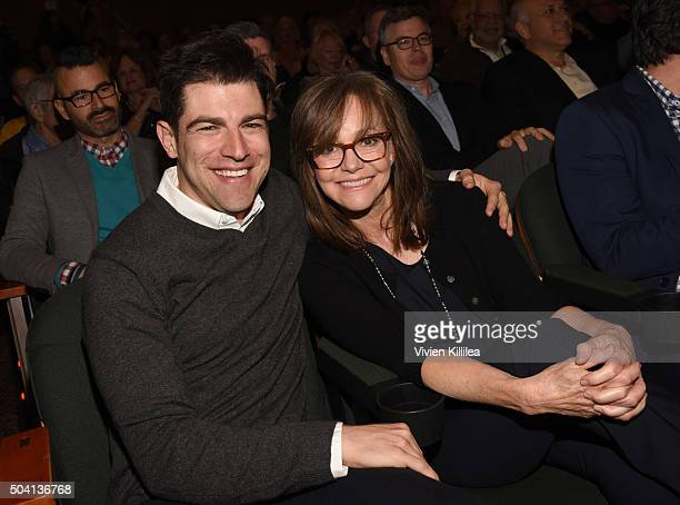 Actor Max Greenfield and actress Sally Field attend a screening of 'Hello My Name is Doris' at the 27th Annual Palm Springs International Film...