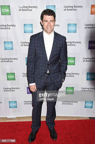 Actor Max Greenfield arrives at the 2017 Annual Artios Awards at The Beverly Hilton Hotel on January 19 2017 in Beverly Hills California