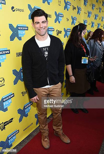 Actor Max Greenfield arrives at the premiere of 'Hello My Name Is Doris' during the 2015 SXSW Music FIlm Interactive Festival at Paramount Theatre on...