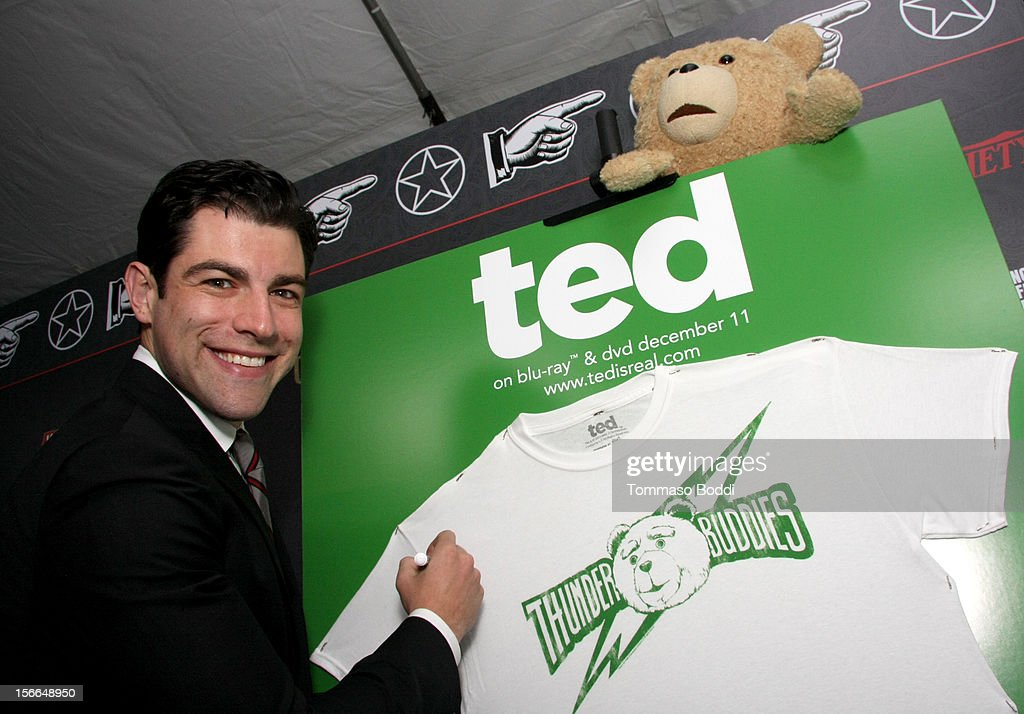 Actor Max Greenfield arrives at Variety's 3rd annual Power of Comedy event presented by Bing benefiting the Noreen Fraser Foundation held at Avalon on November 17, 2012 in Hollywood, California. The Ted Blu-ray and DVD will be released on December 11, 2012.