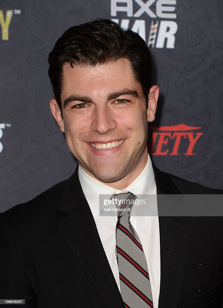 Actor <a gi-track='captionPersonalityLinkClicked' href=/galleries/search?phrase=Max+Greenfield&family=editorial&specificpeople=599135 ng-click='$event.stopPropagation()'>Max Greenfield</a> arrives at Variety's 3rd annual Power of Comedy event presented by Bing benefiting the Noreen Fraser Foundation held at Avalon on November 17, 2012 in Hollywood, California.