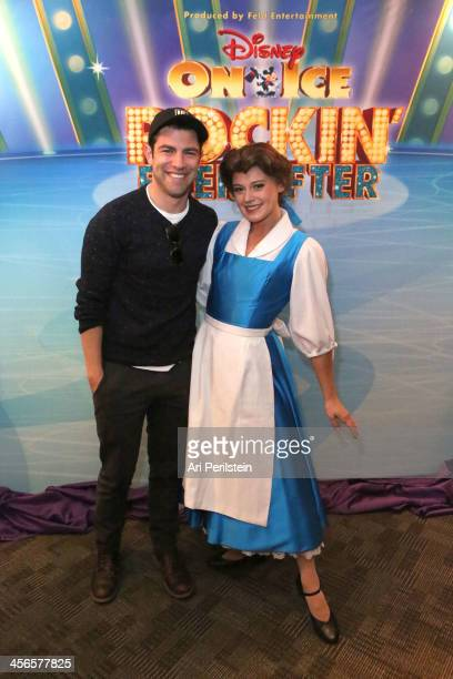 Actor Max Greenfield attends Disney On Ice Presents 'Rockin' Ever After' At STAPLES Center at Staples Center on December 14 2013 in Los Angeles...