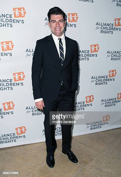 Actor Max Greenfield attends the Alliance For Children's Rights 23rd Annual dinner at The Beverly Hilton Hotel on March 12 2015 in Beverly Hills...