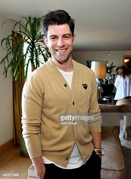 Actor Max Greenfield attends the Danny Seo AmericaShare Party presented by Movado at L'Ermitage Beverly Hills Hotel on May 20 2014 in Beverly Hills...