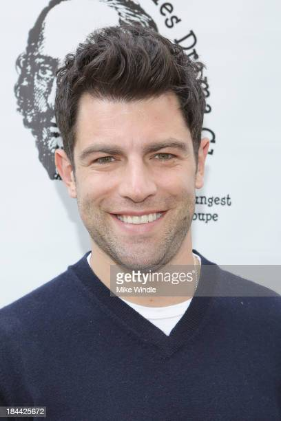 Actor Max Greenfield attends the Los Angeles Drama Club's 2nd Annual 'Tempest In A Teacup' Gala Fundraiser and Benefit performance at The Magic...