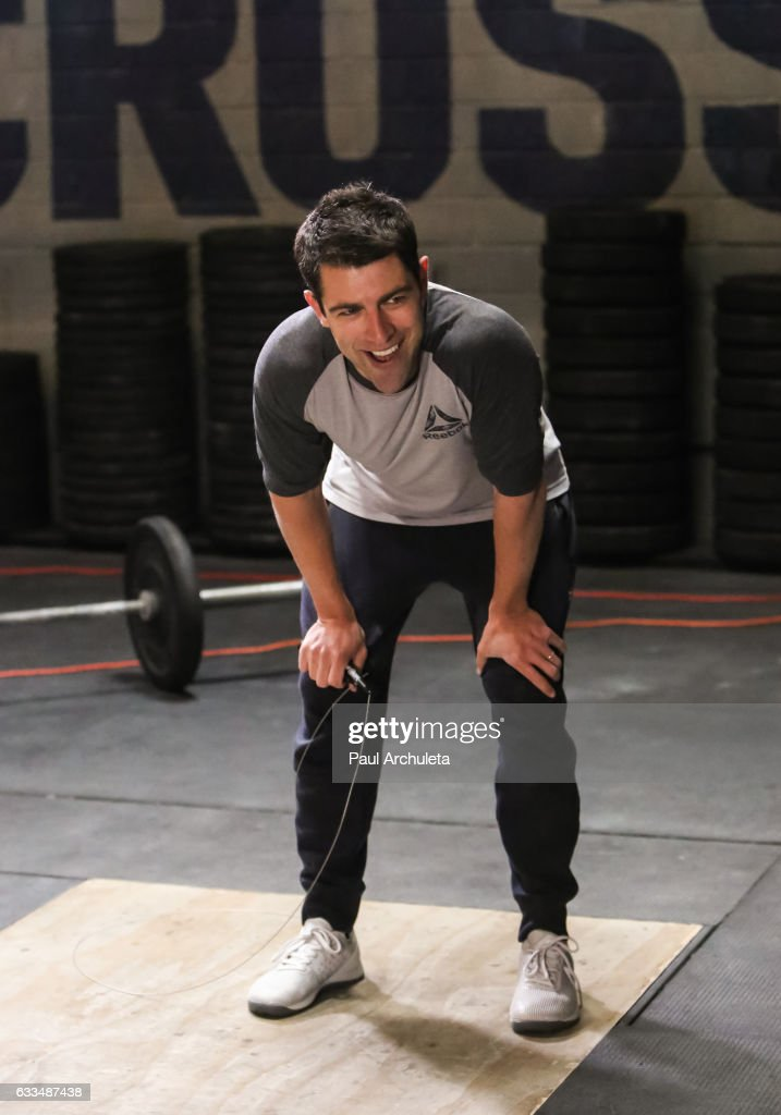 Actor Max Greenfield attends the Max Greenfield celebrates Reebok Nano 7 launch at CrossFit Paridiso at Paradiso Crossfit on February 1, 2017 in Venice, California.