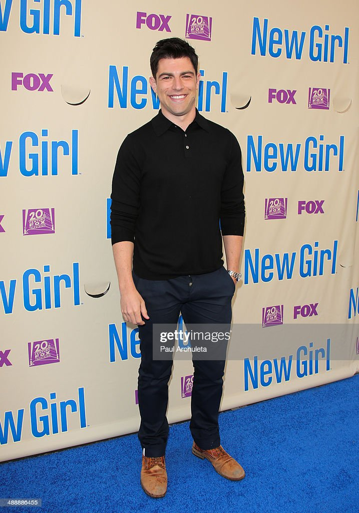 Actor <a gi-track='captionPersonalityLinkClicked' href=/galleries/search?phrase=Max+Greenfield&family=editorial&specificpeople=599135 ng-click='$event.stopPropagation()'>Max Greenfield</a> attends the 'New Girl' season 3 screening and cast Q&A at Zanuck Theater at 20th Century Fox Lot on May 8, 2014 in Los Angeles, California.