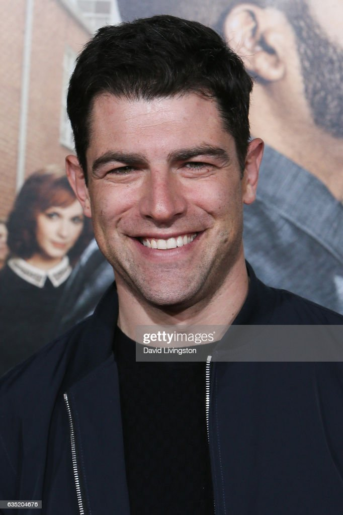 Actor Max Greenfield attends the premiere of Warner Bros. Pictures' 'Fist Fight' at Regency Village Theatre on February 13, 2017 in Westwood, California.