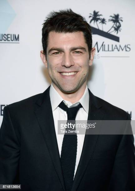Actor Max Greenfield attends the Zimmer Children's Museum's 17th Annual Discovery Award Dinner at Skirball Cultural Center on November 15 2017 in Los...
