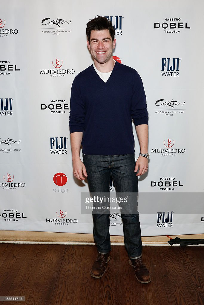 Actor Max Greenfield attends Tribeca Press Day for the film 'About Alex' at the Carlton Hotel on April 18, 2014 in New York City.