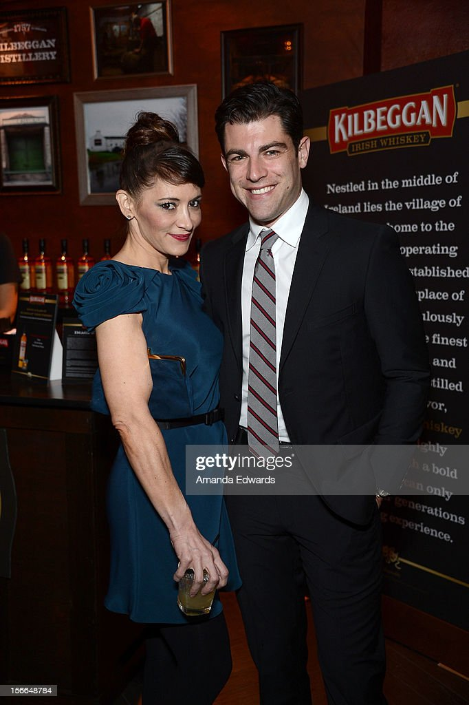 Actor <a gi-track='captionPersonalityLinkClicked' href=/galleries/search?phrase=Max+Greenfield&family=editorial&specificpeople=599135 ng-click='$event.stopPropagation()'>Max Greenfield</a> (R) attends Variety's 3rd annual Power of Comedy event presented by Bing benefiting the Noreen Fraser Foundation held at Avalon on November 17, 2012 in Hollywood, California.