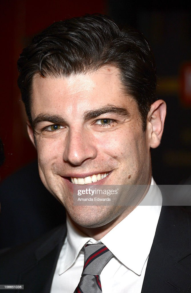Actor <a gi-track='captionPersonalityLinkClicked' href=/galleries/search?phrase=Max+Greenfield&family=editorial&specificpeople=599135 ng-click='$event.stopPropagation()'>Max Greenfield</a> attends Variety's 3rd annual Power of Comedy after party event presented by Bing benefiting the Noreen Fraser Foundation held at Avalon on November 17, 2012 in Hollywood, California.