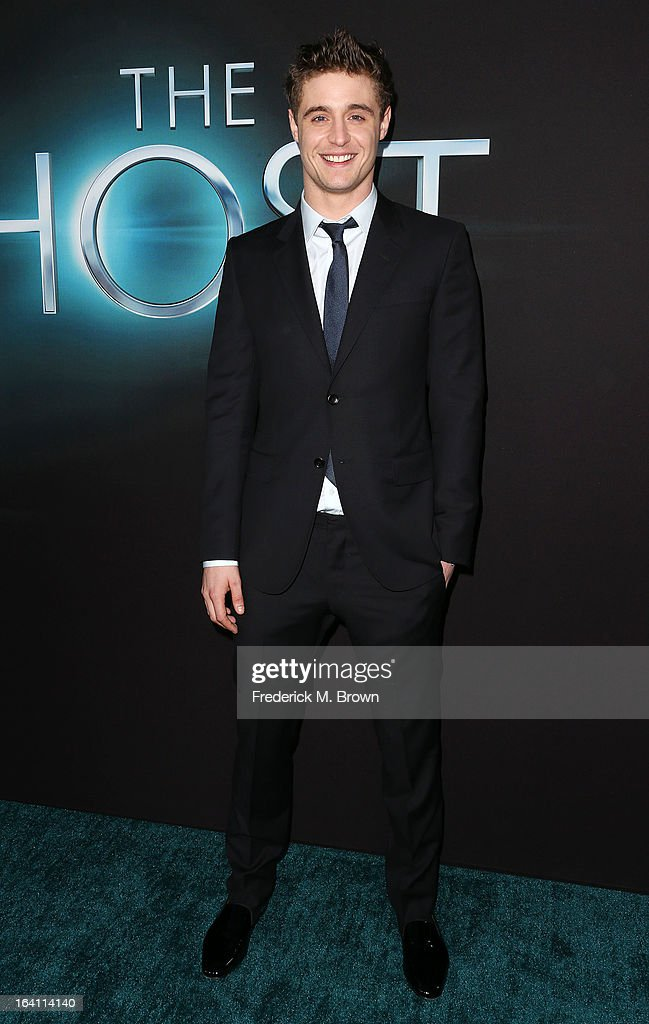 Actor Max Irons attends the Premiere of Open Roads Films 'The Host' at the ArcLight Cinemas Cinerama Dome on March 19, 2013 in Hollywood, California.